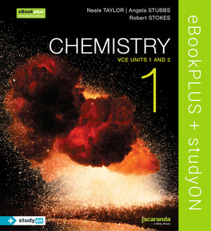 Chemistry 1 VCE Units 1 and 2 eBookPLUS (Online Purchase) + StudyOn VCE Chemistry Units 1 and 2 (Online Purchase)