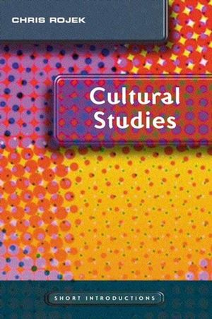 Cultural Studies (0745636837) cover image