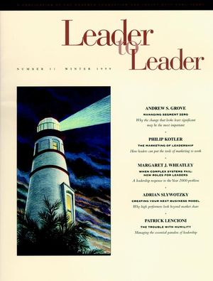 Leader to Leader (LTL), Volume 11, Winter 1999