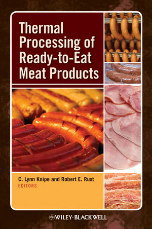 Thermal Processing of Ready-to-Eat Meat Products (0813808537) cover image