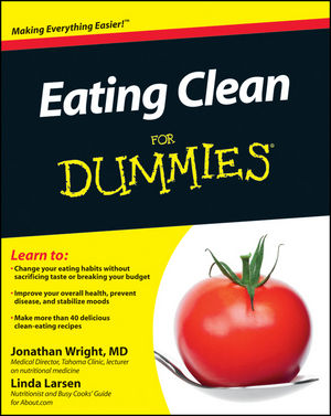 Eating Clean For Dummies (1118000137) cover image