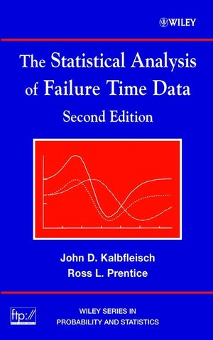 The Statistical Analysis of Failure Time Data, 2nd Edition (1118031237) cover image