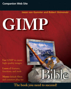 GIMP Bible (1118081137) cover image