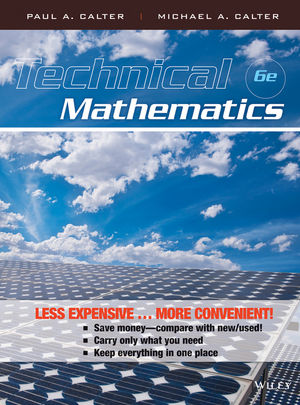 Technical Mathematics, Chapters 1 - 22, 6th Edition