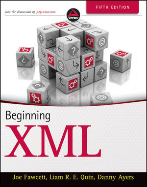Beginning XML, 5th Edition (1118162137) cover image