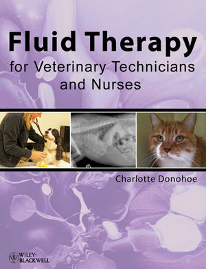 Fluid Therapy for Veterinary Technicians and Nurses (1118292537) cover image