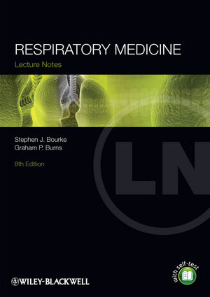 Lecture Notes: Respiratory Medicine, 8th Edition (1118293037) cover image