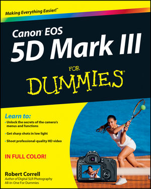 Canon EOS 5D Mark III For Dummies (1118335937) cover image
