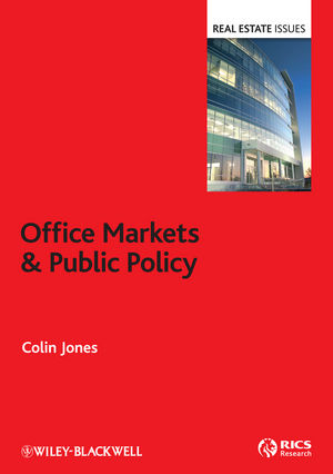 Office Markets and Public Policy (1118554337) cover image