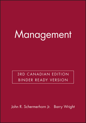 Management, 3rd Canadian Edition Binder Ready Version