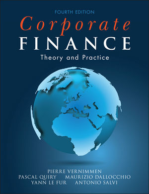 Corporate Finance: Theory and Practice, 4th Edition (1118849337) cover image