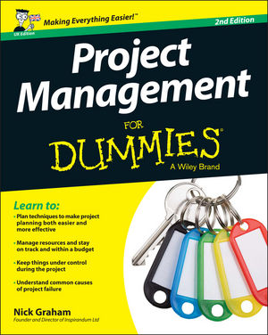 Project Management for Dummies - UK, 2nd UK Edition (1119025737) cover image
