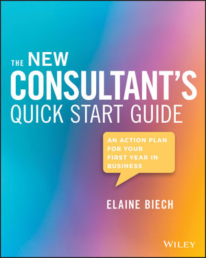 The New Consultant's Quick Start Guide: An Action Plan for Your First Year in Business