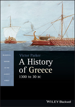 A History of Greece, 1300 to 30 BC (1405190337) cover image