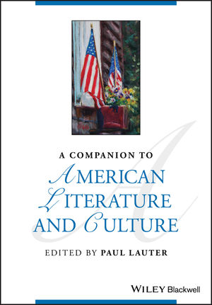 A Companion to American Literature and Culture (1444320637) cover image