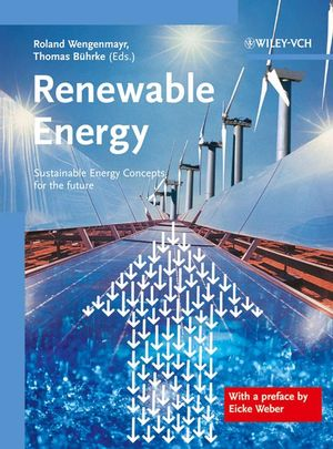 Renewable Energy: Sustainable Energy Concepts for the Future (3527657037) cover image