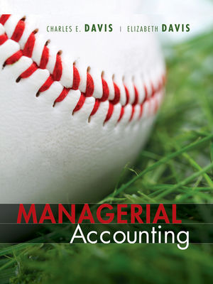 Managerial Accounting, 1st Edition (EHEP001737) cover image