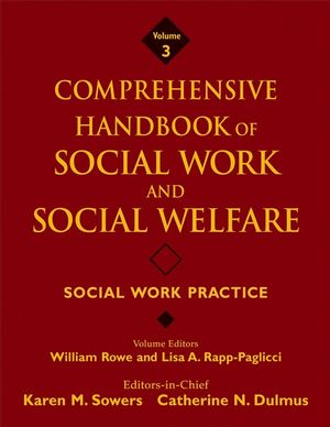 Comprehensive Handbook of Social Work and Social Welfare, Volume 3, Social Work Practice (0470222638) cover image