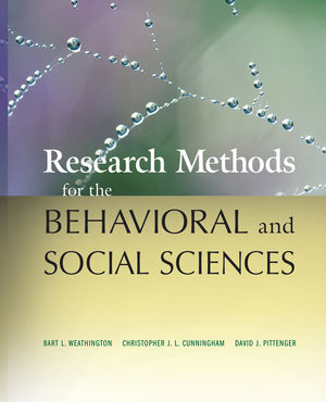 Research Methods for the <span class='search-highlight'>Behavioral</span> and <span class='search-highlight'>Social</span> <span class='search-highlight'>Sciences</span>