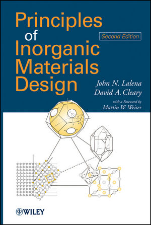Principles of Inorganic Materials Design, 2nd Edition (0470567538) cover image