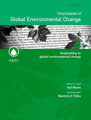 Encyclopedia of Global Environmental Change, Volume 4, Responding to Global Environmental Change