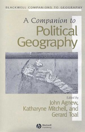 A Companion to Political Geography (0470998938) cover image
