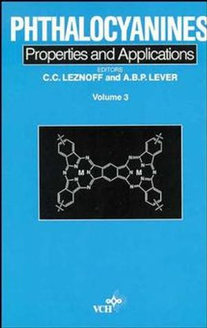 Phthalocyanines, Properties and Applications, Volume 3