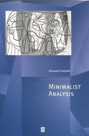 Minimalist Analysis (0631210938) cover image