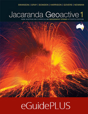 Geoactive 1 NSW Australian Curriculum Edition Stage 4 eGuidePLUS (Online Purchase)