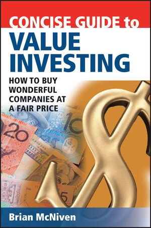 Concise Guide to Value Investing: How to Buy Wonderful Companies at a Fair Price