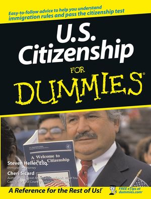U.S. Citizenship For Dummies (0764554638) cover image