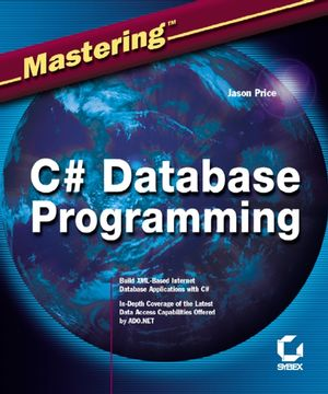 Mastering C# Database Programming (0782141838) cover image