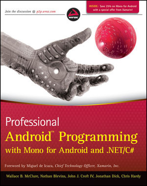 Professional Android Programming with Mono for Android and .NET/C# (1118026438) cover image