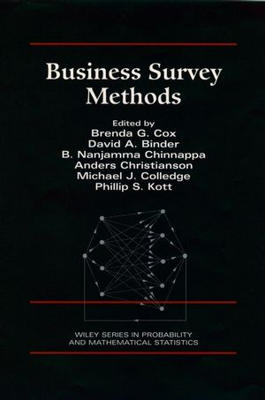 Business Survey Methods  (1118150538) cover image