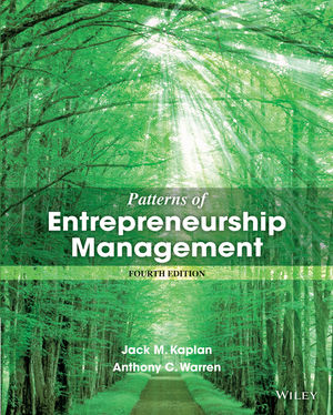 Patterns of Entrepreneurship Management, 4th Edition