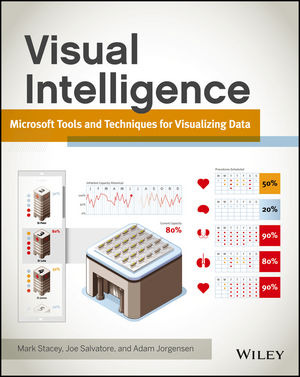 Visual Intelligence: Microsoft Tools and Techniques for Visualizing Data (1118388038) cover image