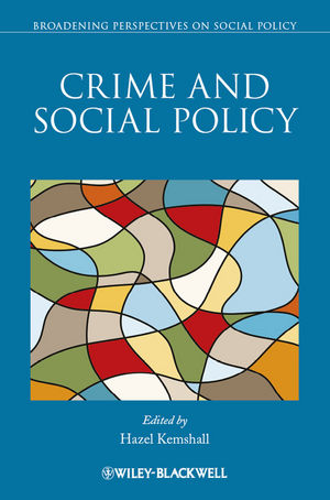 Crime and Social Policy (1118509838) cover image
