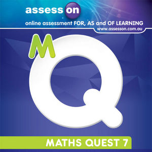 Assesson Math Quest 7 for New South Wales Australian Curriculum Edition (Online Purchase)