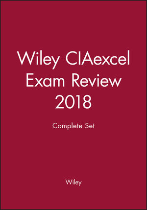 Wiley CIAexcel Exam Review 2018: Complete Set