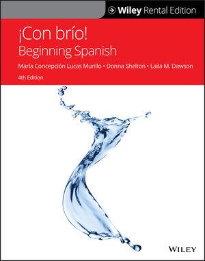 ¡Con brío!: Beginning Spanish, 4th Edition