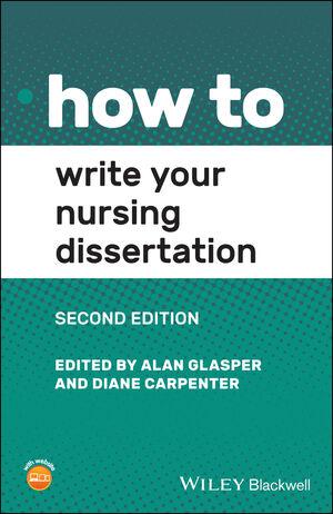 Dissertation in nursing sample dissertation methodology