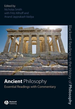 Ancient Philosophy: Essential Readings with Commentary (1405135638) cover image