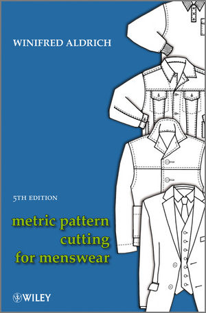 Metric Pattern Cutting For Menswear 5th Edition Wiley