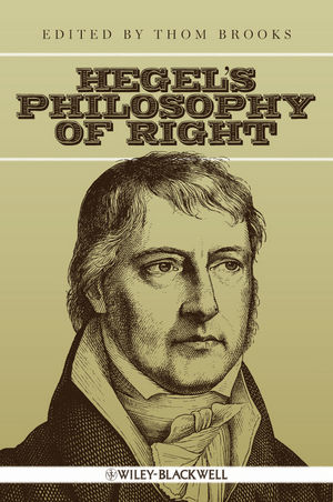 Hegel's Philosophy of Right (1405188138) cover image