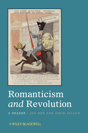 Romanticism and Revolution: A Reader (1444330438) cover image