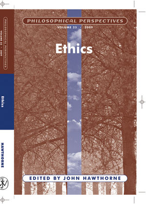 Ethics, Volume 23