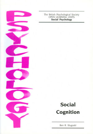 Social Cognition (1854332538) cover image