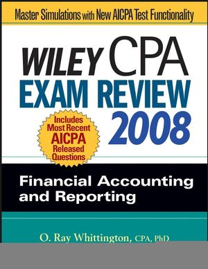 Corrections for the CPA Exam Review, 2008, Financial Accounting and Reporting