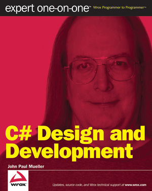 C# Design and Development: Expert One on One (0470493739) cover image