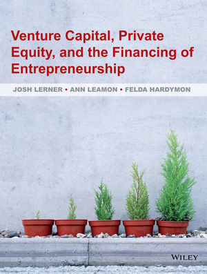 Venture Capital, Private Equity, and the <span class='search-highlight'>Financing</span> of Entrepreneurship